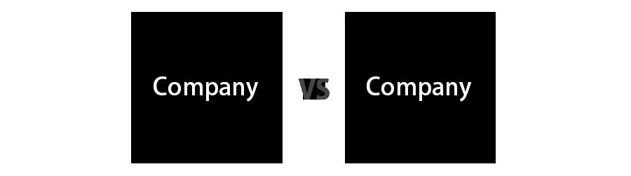 company vs company